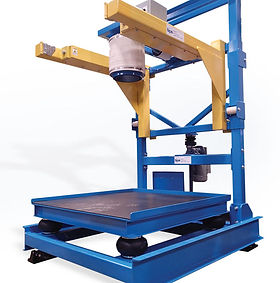 Electronic big bag filling and weighing station