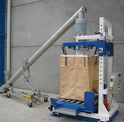 Ensacadoras con transportador helicoidal