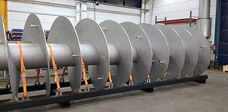 Pulp & Paper Industry Screw Conveyor & Auger