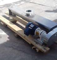 Dosificador de tornillo helicoidal en acero inoxidable 304