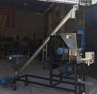 Envasadora Bolsas pequeñas con Alimentador Helicoidal para manejo de fertilizantes