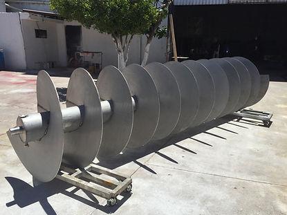 Helicoidales montados en tubo Bega