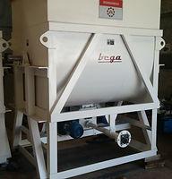 Dosificadores de tornillo helicoidal productos abrasivos