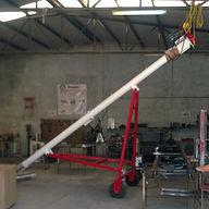 Transportador helicoidal tipo Bazuka para manejo de arena sílica