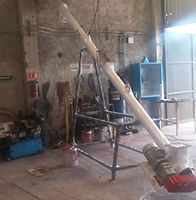 Transpotador helicoidal inclinado