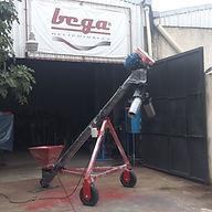Bazuka de Tornillo Helicoidal para llenado de Maíz en Sacos Jumbo