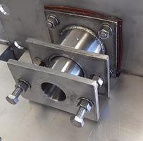 Sello tipo prensa para transportador helicoidal