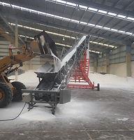 Banda transportadora para fertilizante
