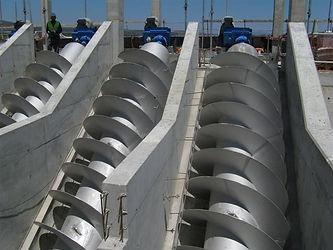 Enviromental / Wastewater Industry Screw Conveyor & Auger
