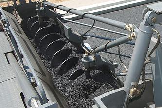 Transportador helicoidal pavimento