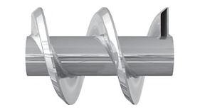 Transportador Helicoidal con hélice hueca