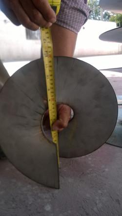 Auger Flight SS304 Measurements