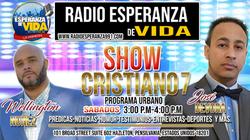 Show Cristiano 7 Programa Urbano.