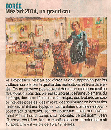 Méz'Art 2014 - Christine Maindroux