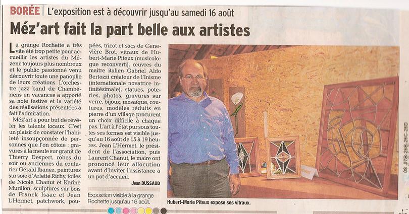 Méz'Art 2014 - Hubert-Marie Piteux