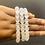 Thumbnail: Healing Crystal Stackable Elastic Bracelets