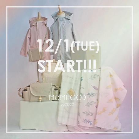 12/1(TUE) START‼MÖMHOOD by nicö