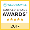 Weddingwire couples' choice award 2017