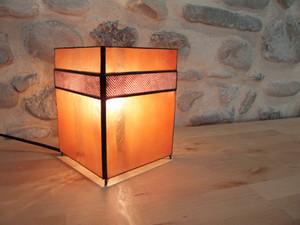 Lampe chevron