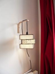 Lampe cube décalé