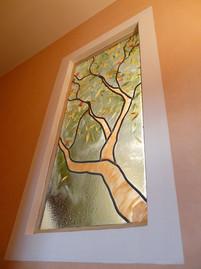 vitrail d'arbre