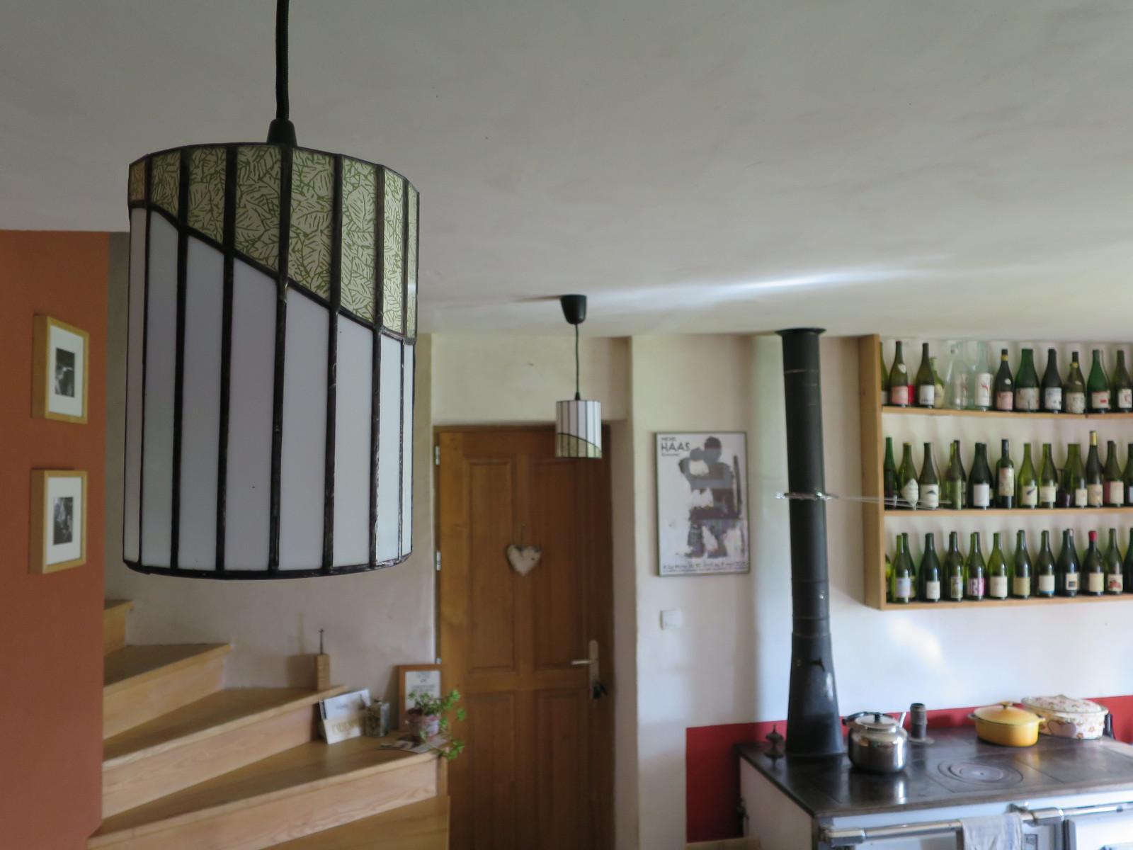 luminaire en verre. Black Bedroom Furniture Sets. Home Design Ideas