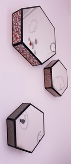 Miroir hexagone
