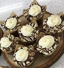 Chocolate Caramel Toffee cupcakes