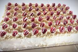 Raspberry Italian Cream with shadow grid
