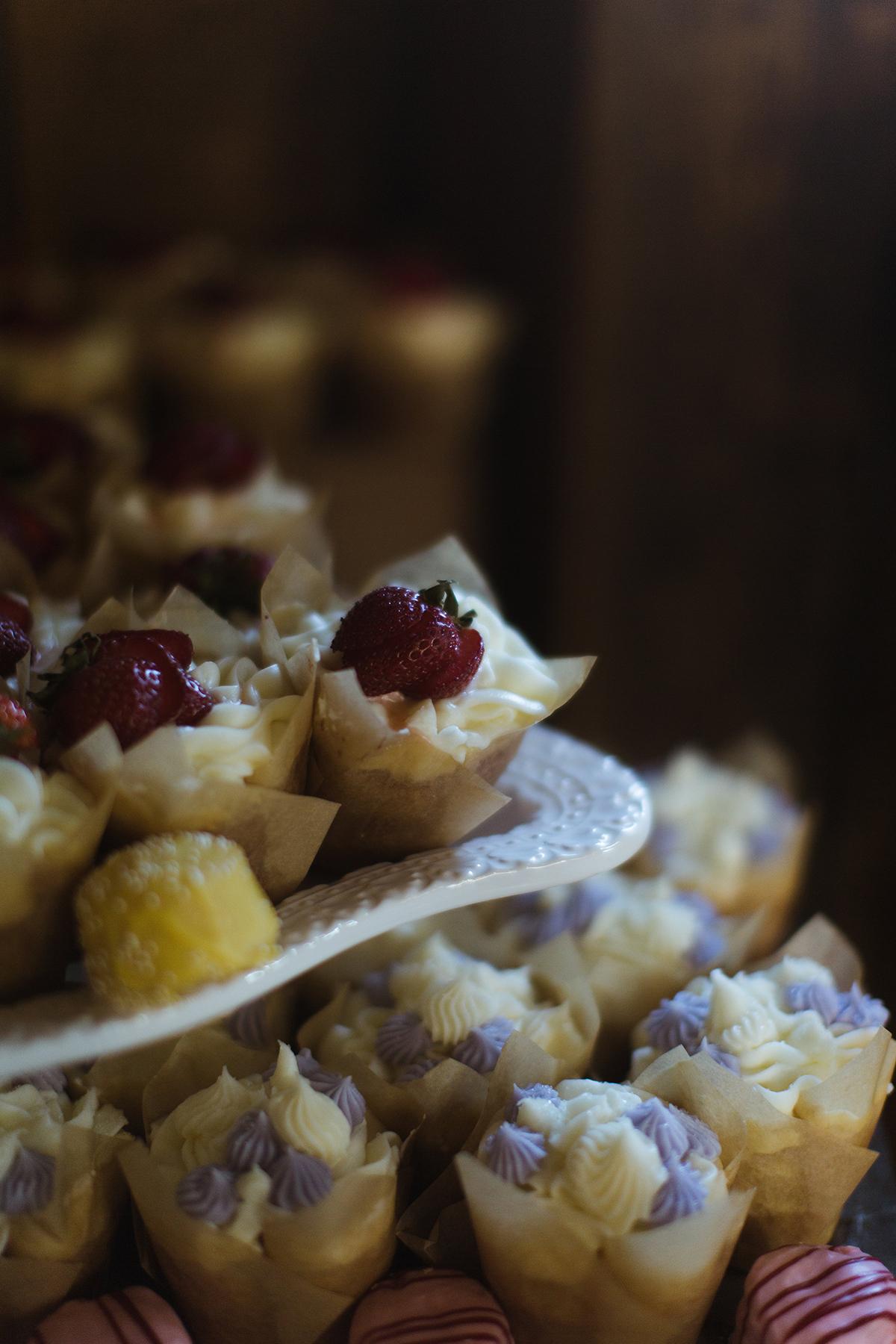 Cupcakes close up