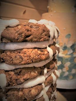 Cookie Cake close up