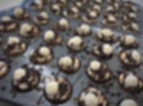 Mini Peanut Butter Turtle cupcakes!
