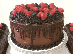 Chocolate and raspberry. Yummo!