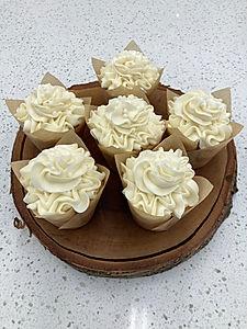 Madagascar Vanilla cupcakes