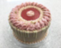New Raspberry Key Lime with White Chocol
