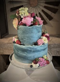 Concrete cake 2.0 - In the Blue