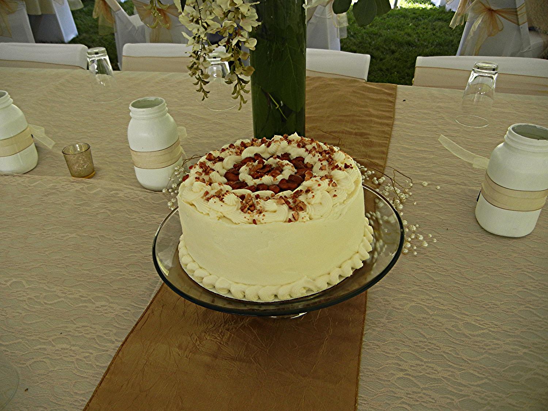 Cashew Ginger Carrot cake