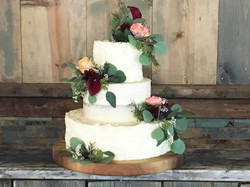 Three tiers of texture with a twist