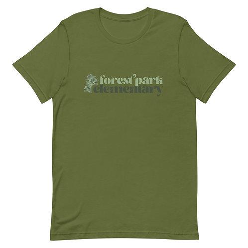 Forest Park Natural Leaf Tee
