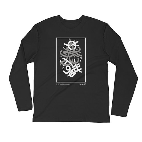 INTERSECTIONS Long Sleeve Fitted Crew
