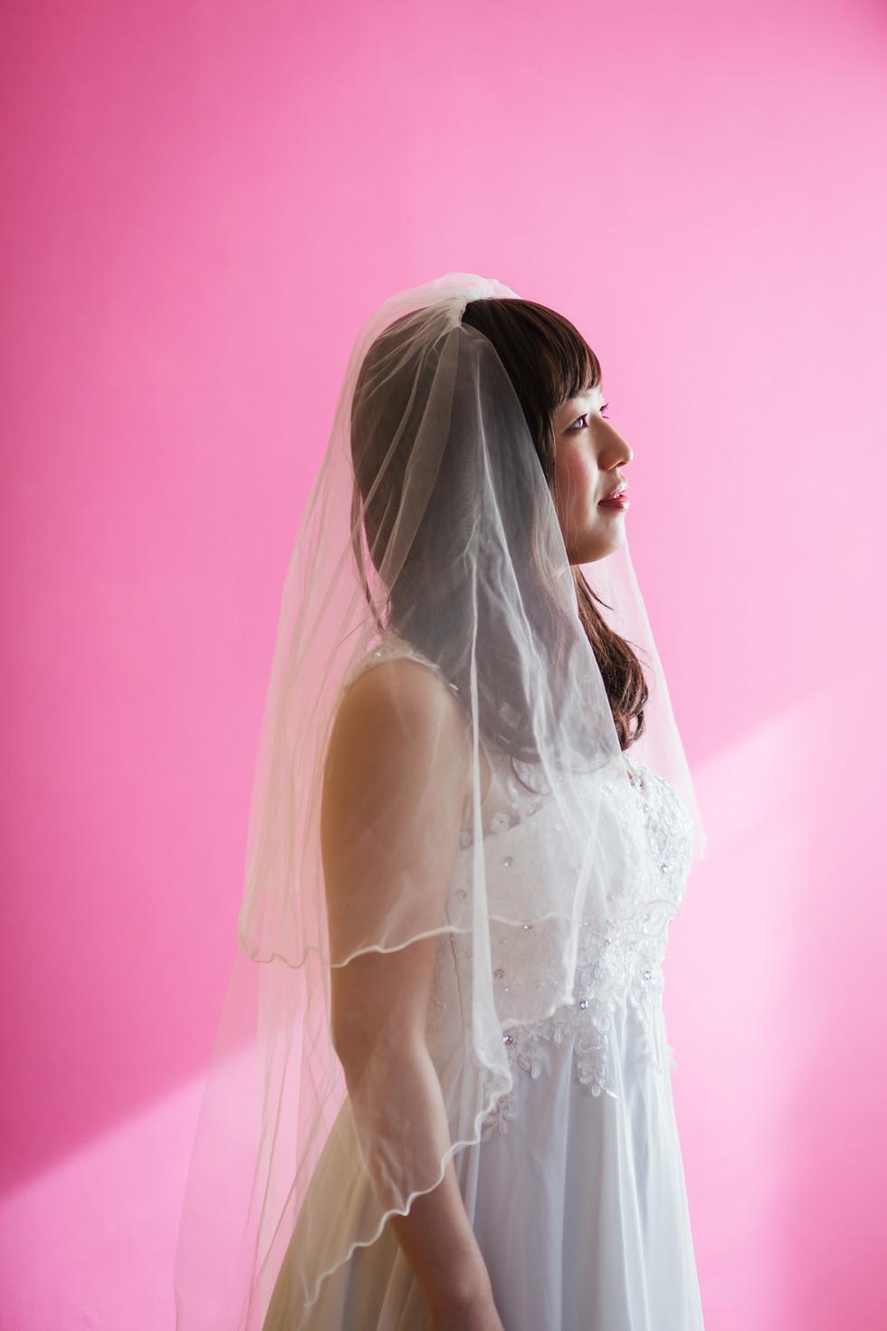 妹にしか届かない、宇宙からのメッセージにより、結婚写真を撮ることにした。