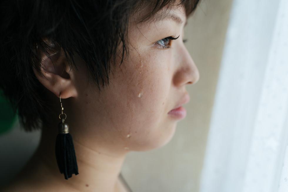 「躁でも鬱でもない時が、自分でもわからない」と言う。そんな妹に、波の穏やかさを感じた朝。