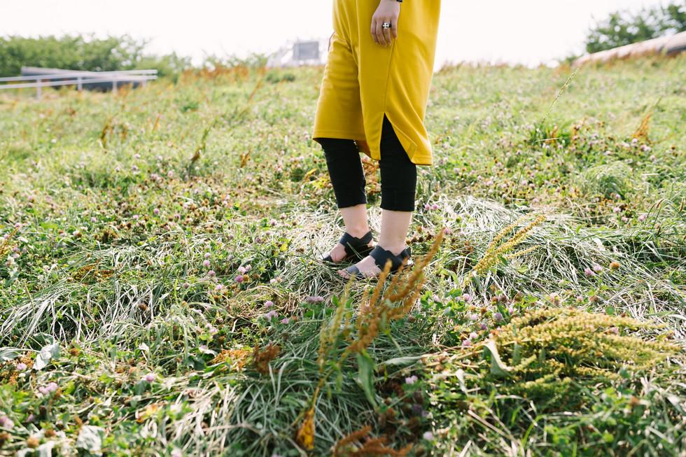 ふわふわと浮いているように見えた足が、地面を感じ始める。色々なものを踏みしめて、自分を自覚しながら、歩く、歩く、歩く。