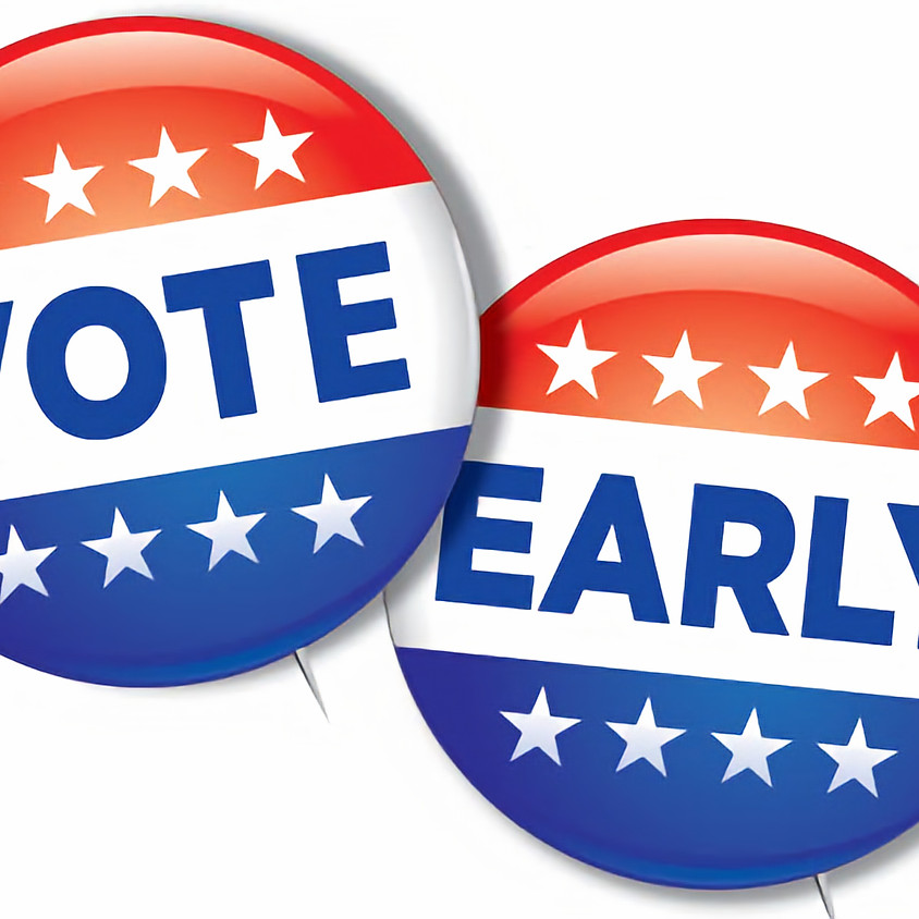 Early Voting Begins!
