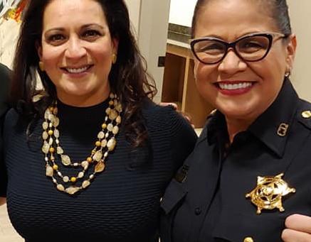 Harris County Precinct 6 Constable Silvia Trevino endorses Christina Morales