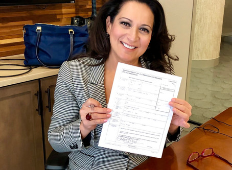Appointment of Campaign Treasurer
