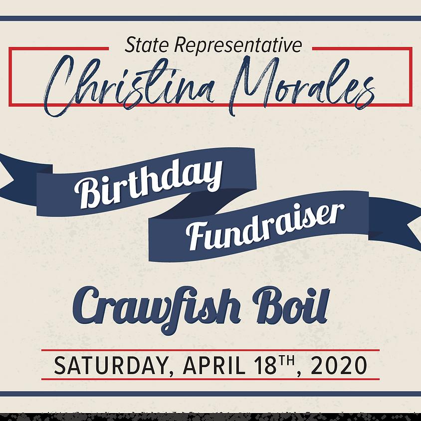 State Rep. Christina Morales' Birthday Crawfish Boil