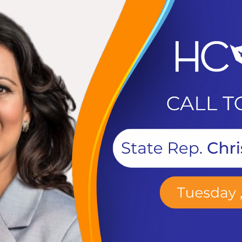 HCDP Call to Action with State Rep. 145 Christina Morales!