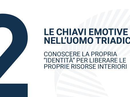LE CHIAVI EMOTIVENELL'UOMO TRIADICO