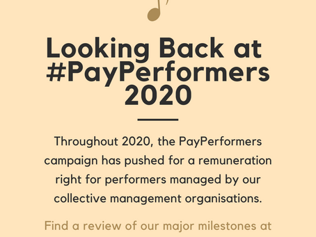 Looking Back at PayPerformers 2020